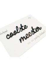 Quote 'coolste meester'