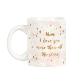 Tas goudfolie Mum love you more