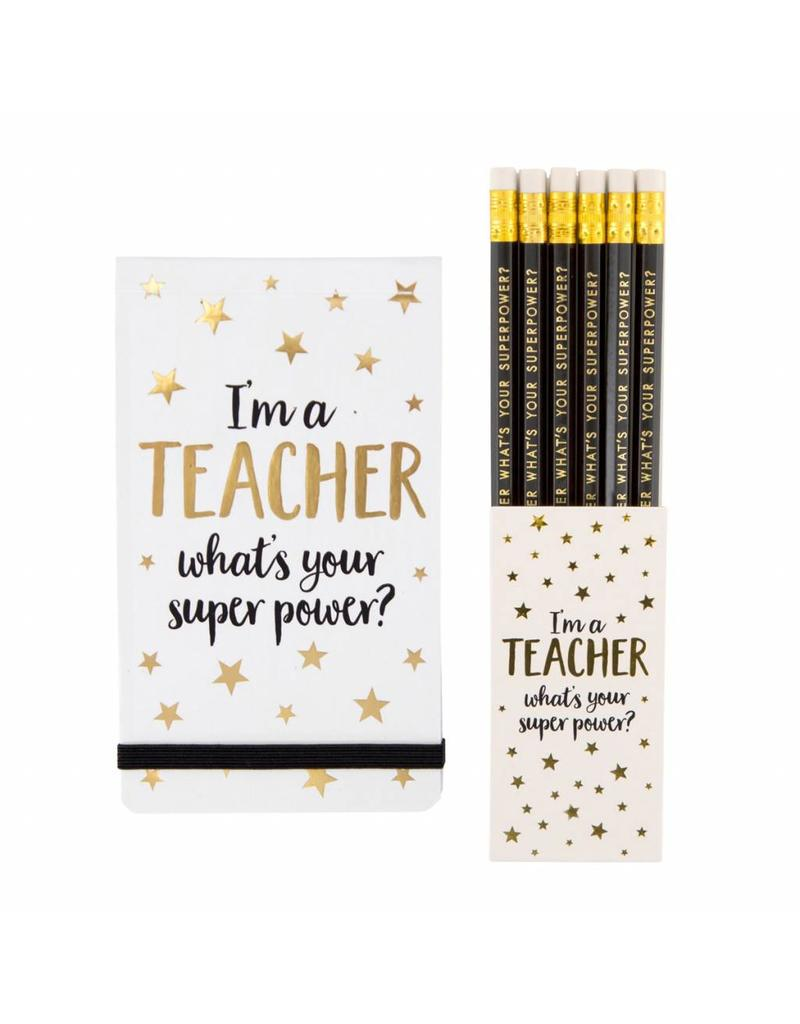 Setje I'm a teacher, what is your super power?