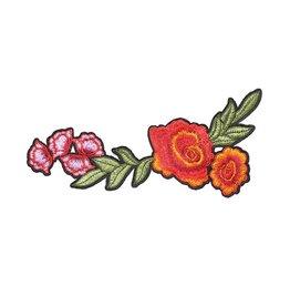 Y: Patch XL bloemen