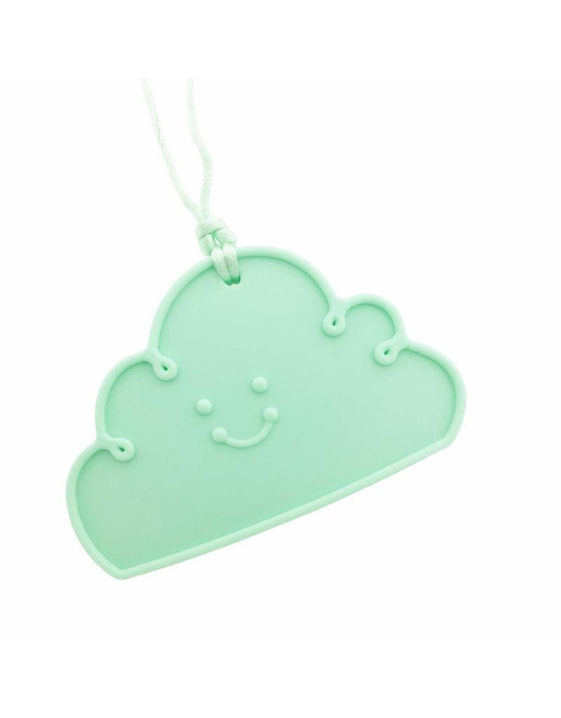 Siliconen bijtketting wolk munt