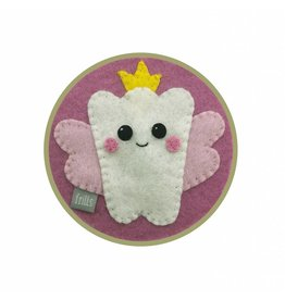 Frills: Tandendoosje roze PRE-ORDER