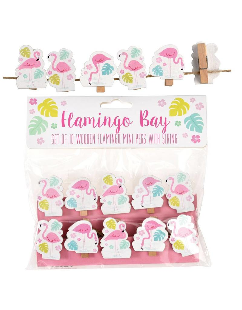 Knijpertjes flamingo