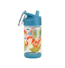 SB: Drinkfles met rietje zeemeermin
