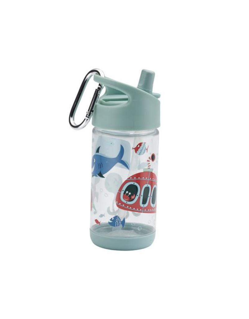 SB: Drinkfles met rietje oceaan