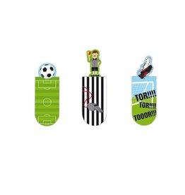Magnetische bladwijzers voetbal