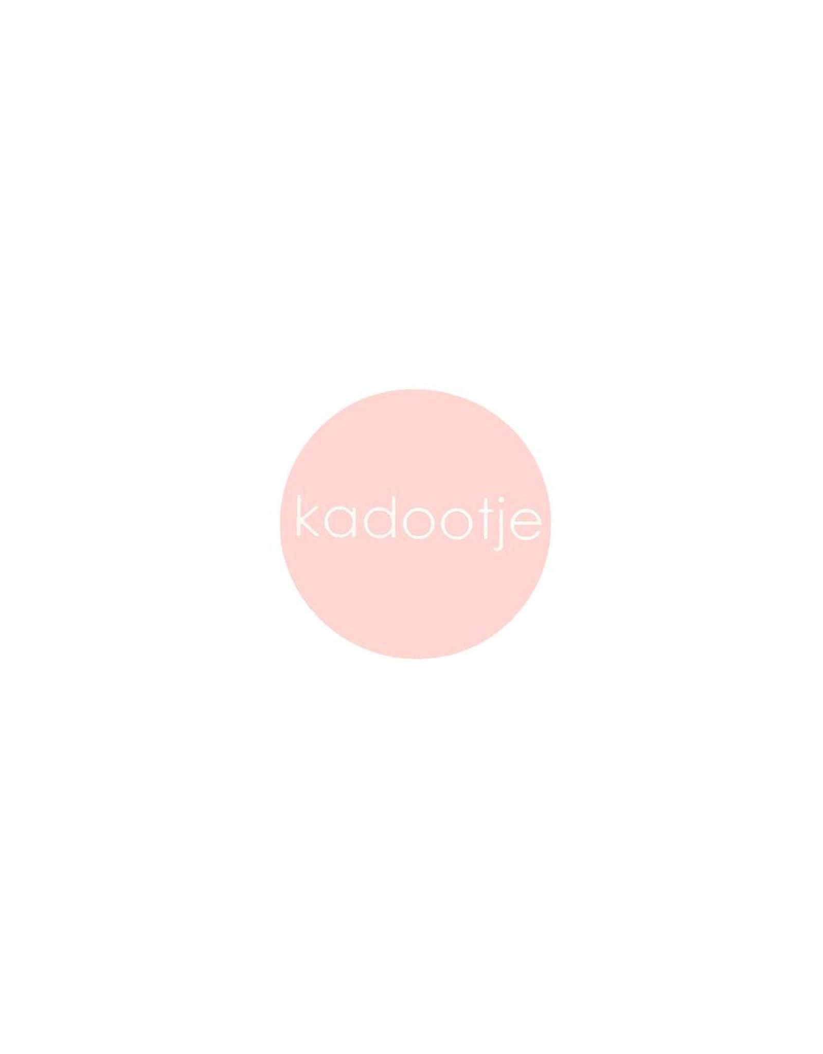 Stickers 5 st. kadootje roze