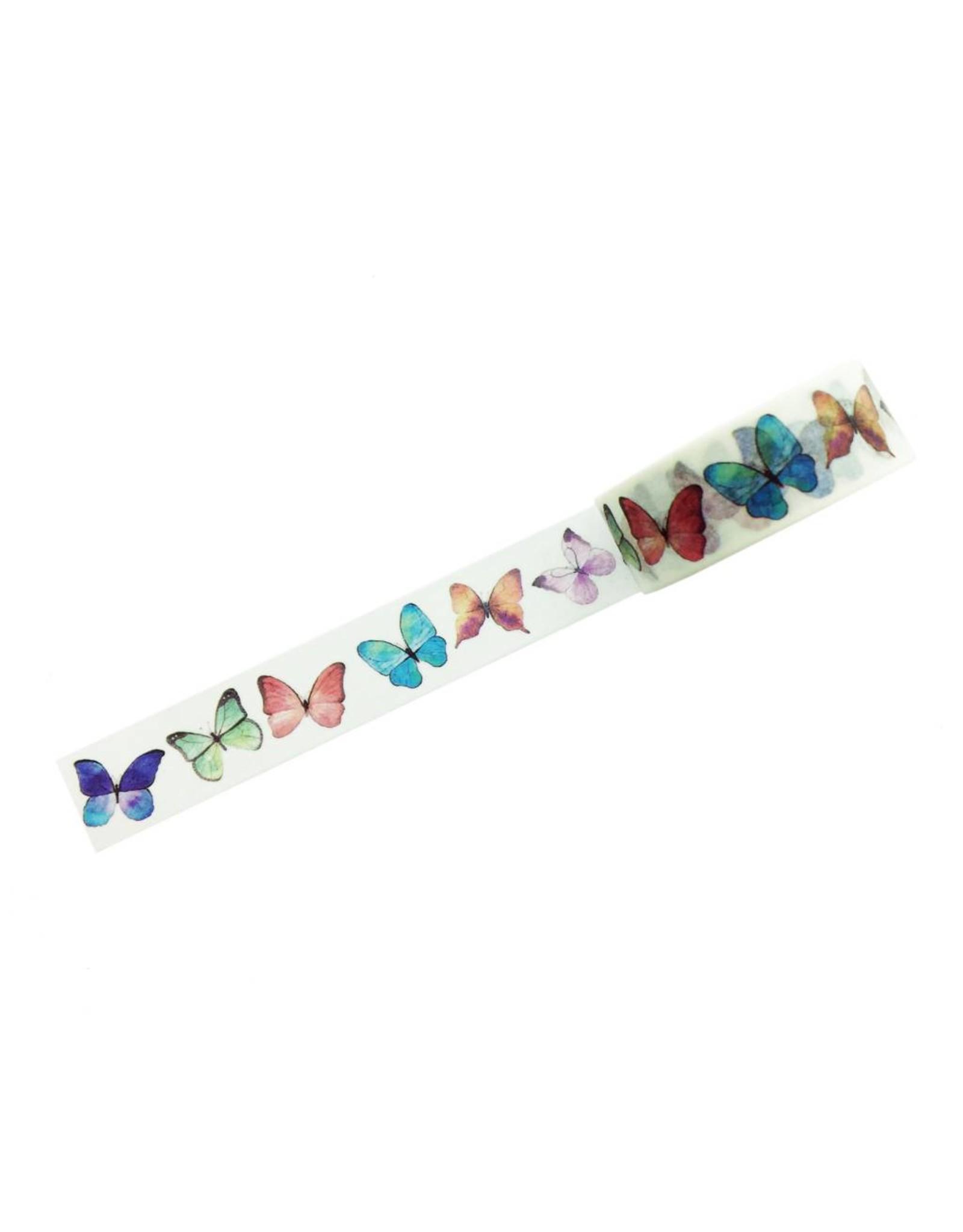 Washi tape vlinders