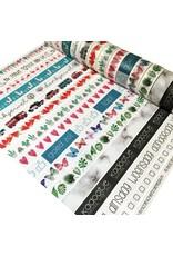 Washi tape bujo cijfers smal