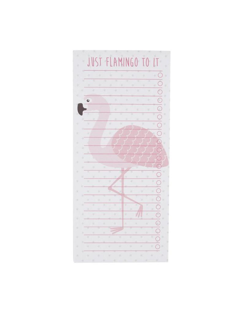 Notablok flamingo magneet