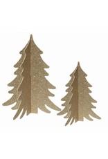 Kerstbomen goud