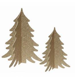 DD: Kerstbomen goud