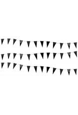 Slinger vlaggetjes zwart