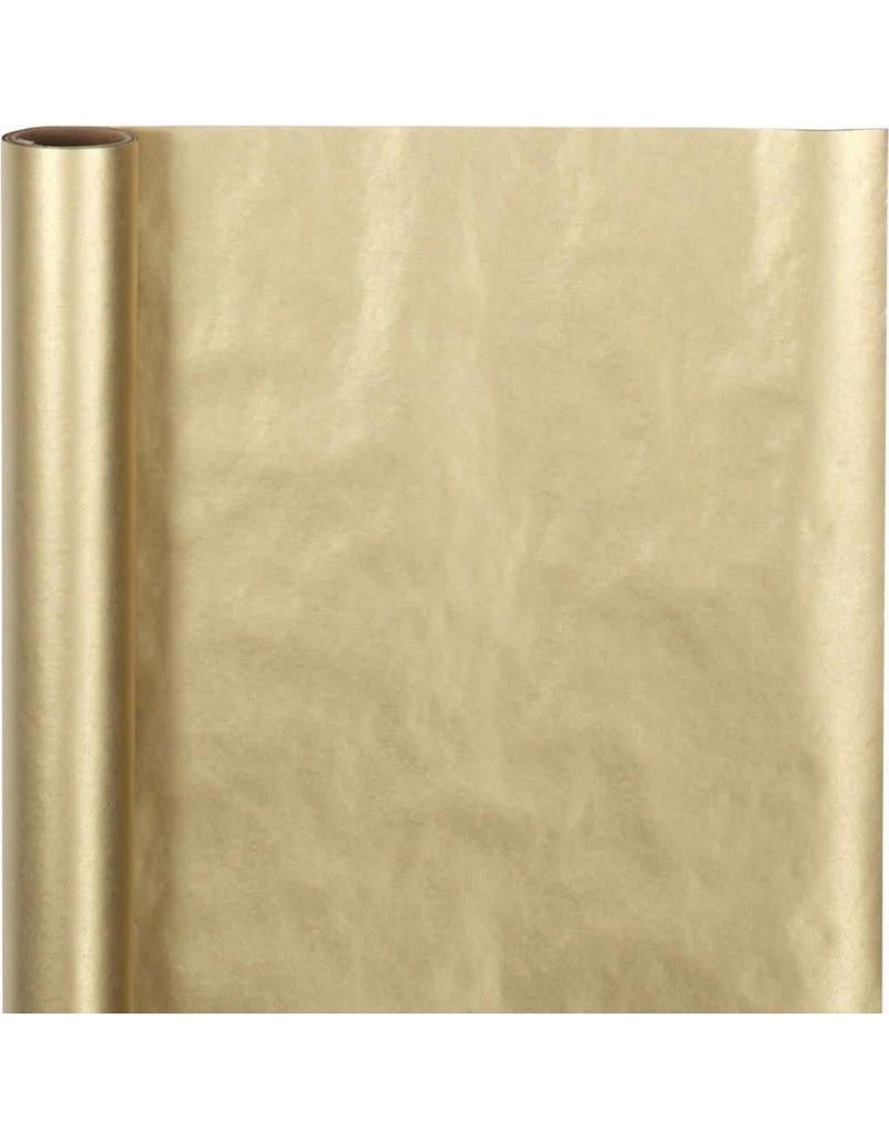 Inpakpapier goudkleurig