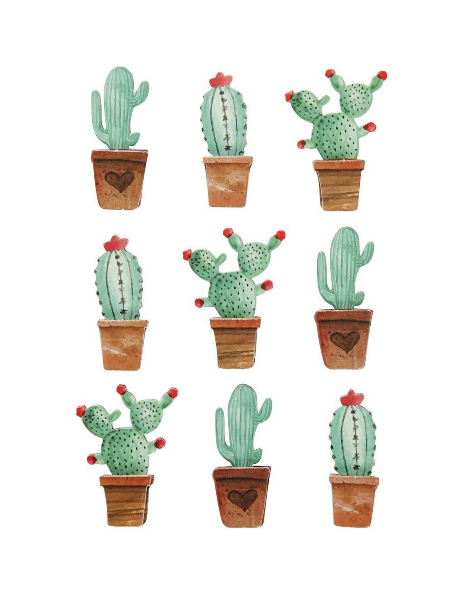 Stickers 3D cactus