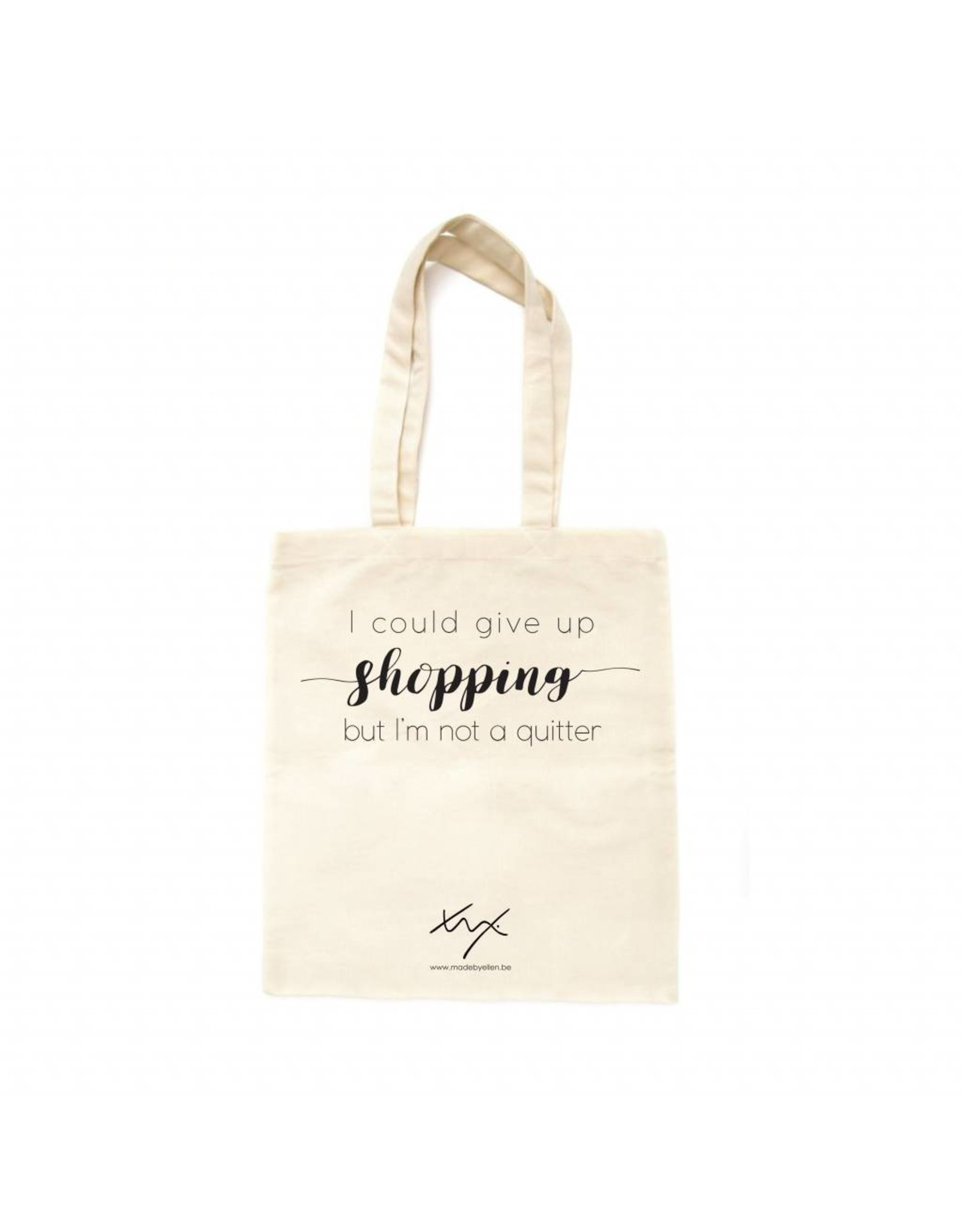 Katoenen shopper SHOPPING