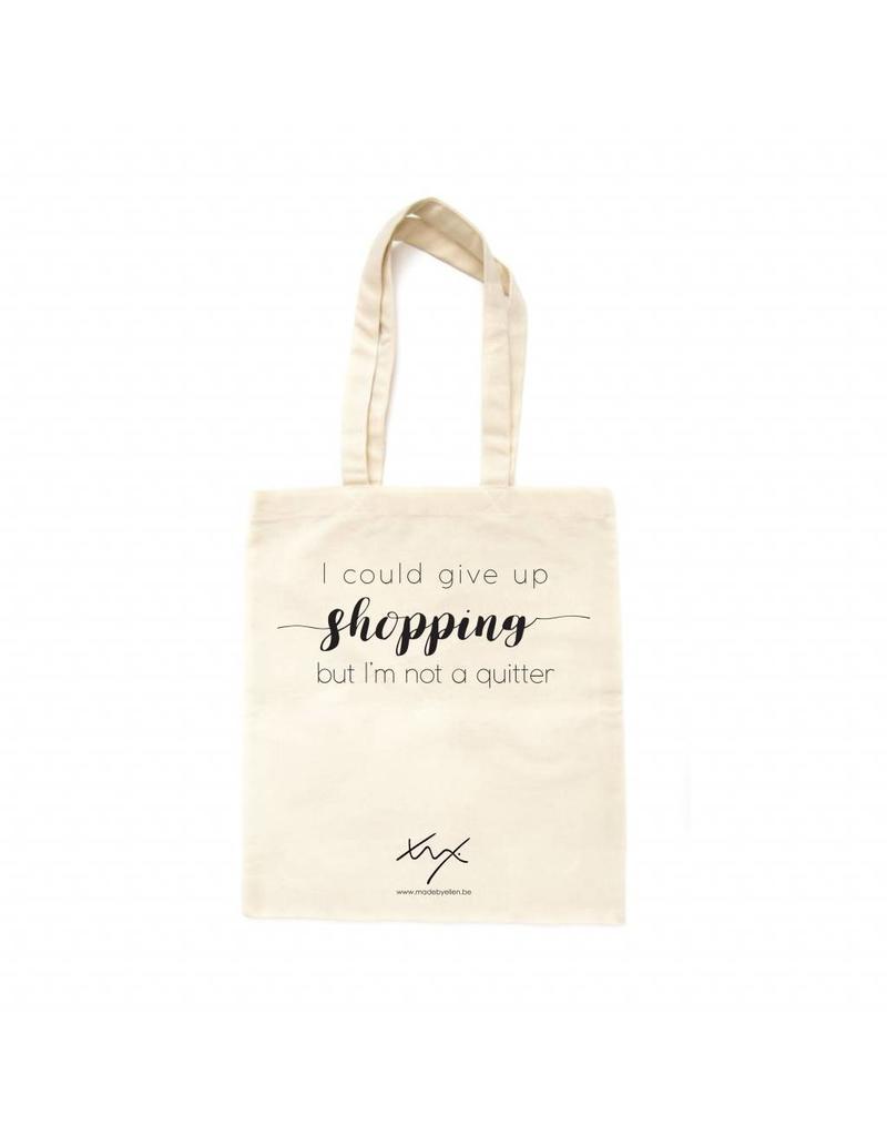 Katoenen shopper SHOPPING