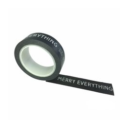 Washi tape Merry everything and Happy always