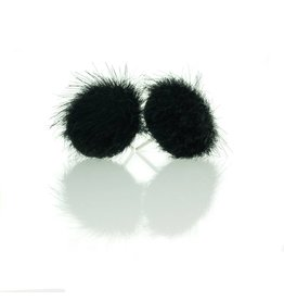 Stekers faux fur zwart