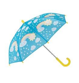 Parapluutje wolk & regenboog