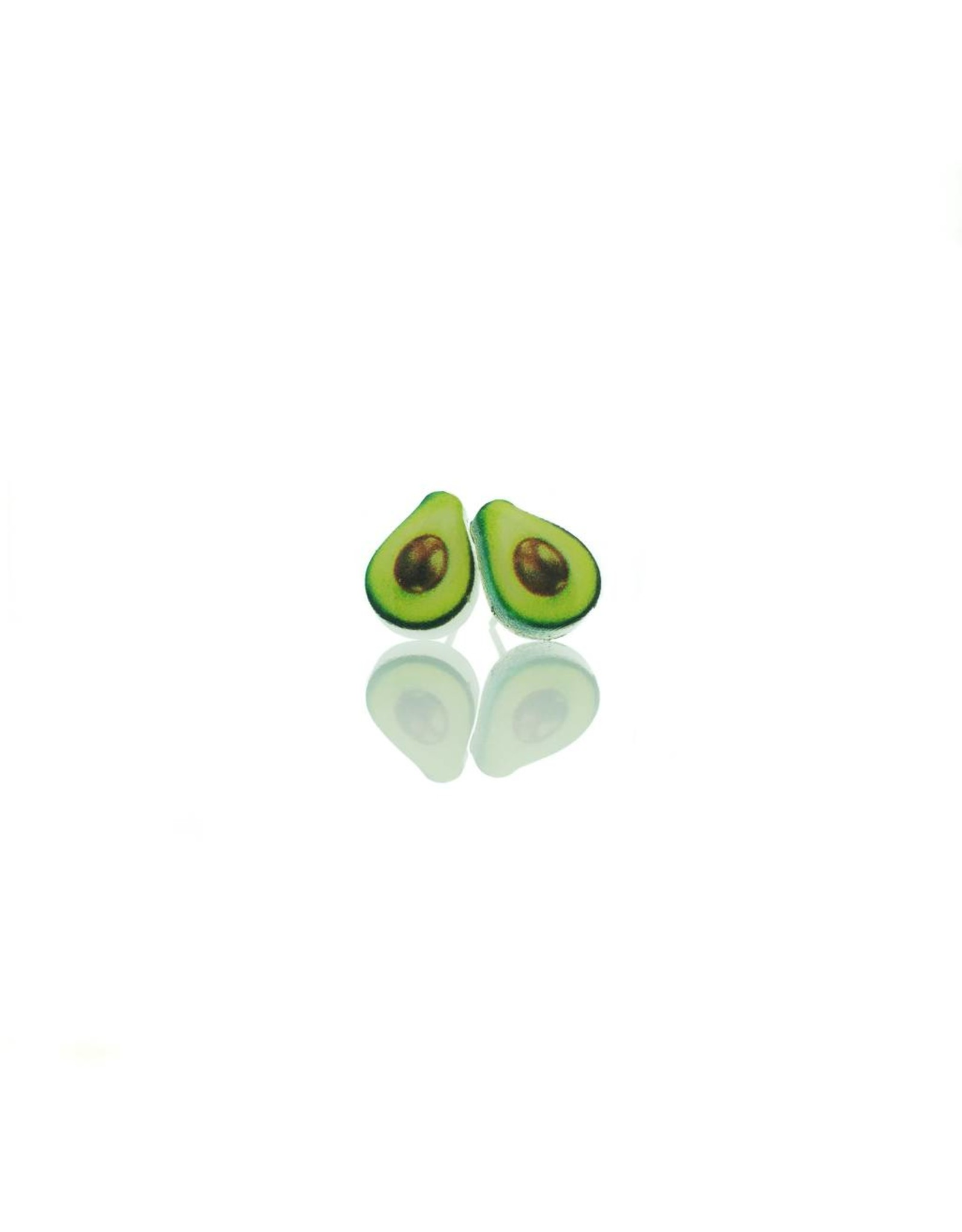 Stekertjes acryl avocado