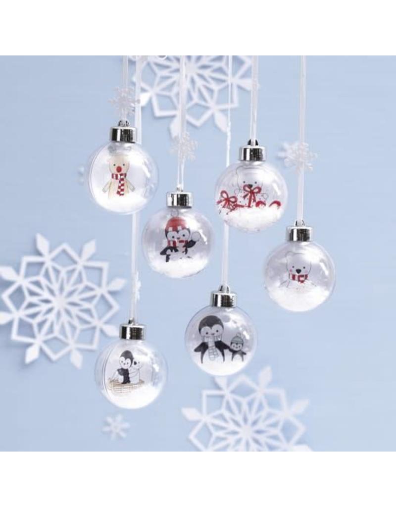 DIY kerstballen transparant