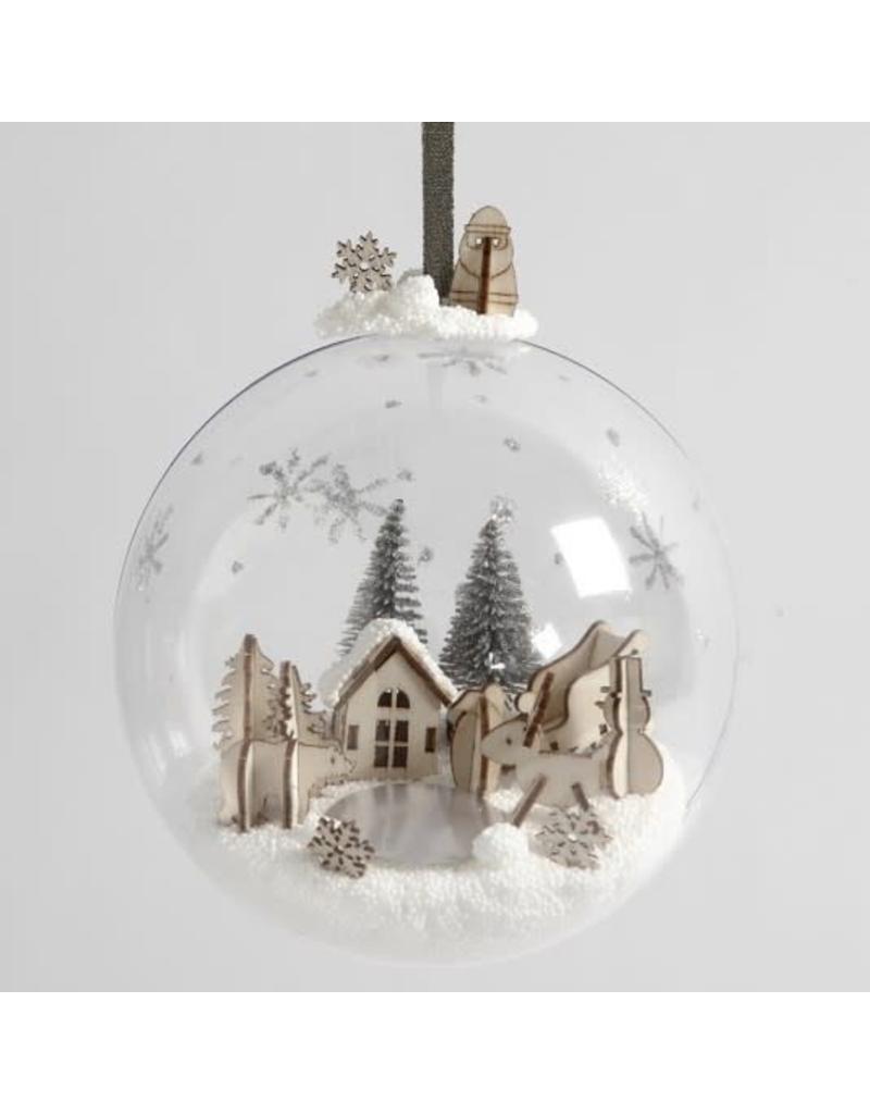 DIY decoratieve kerstbal XL