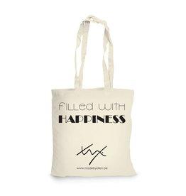 Katoenen shopper happiness