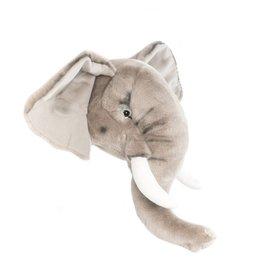 W&S: Dierenhoofd olifant George