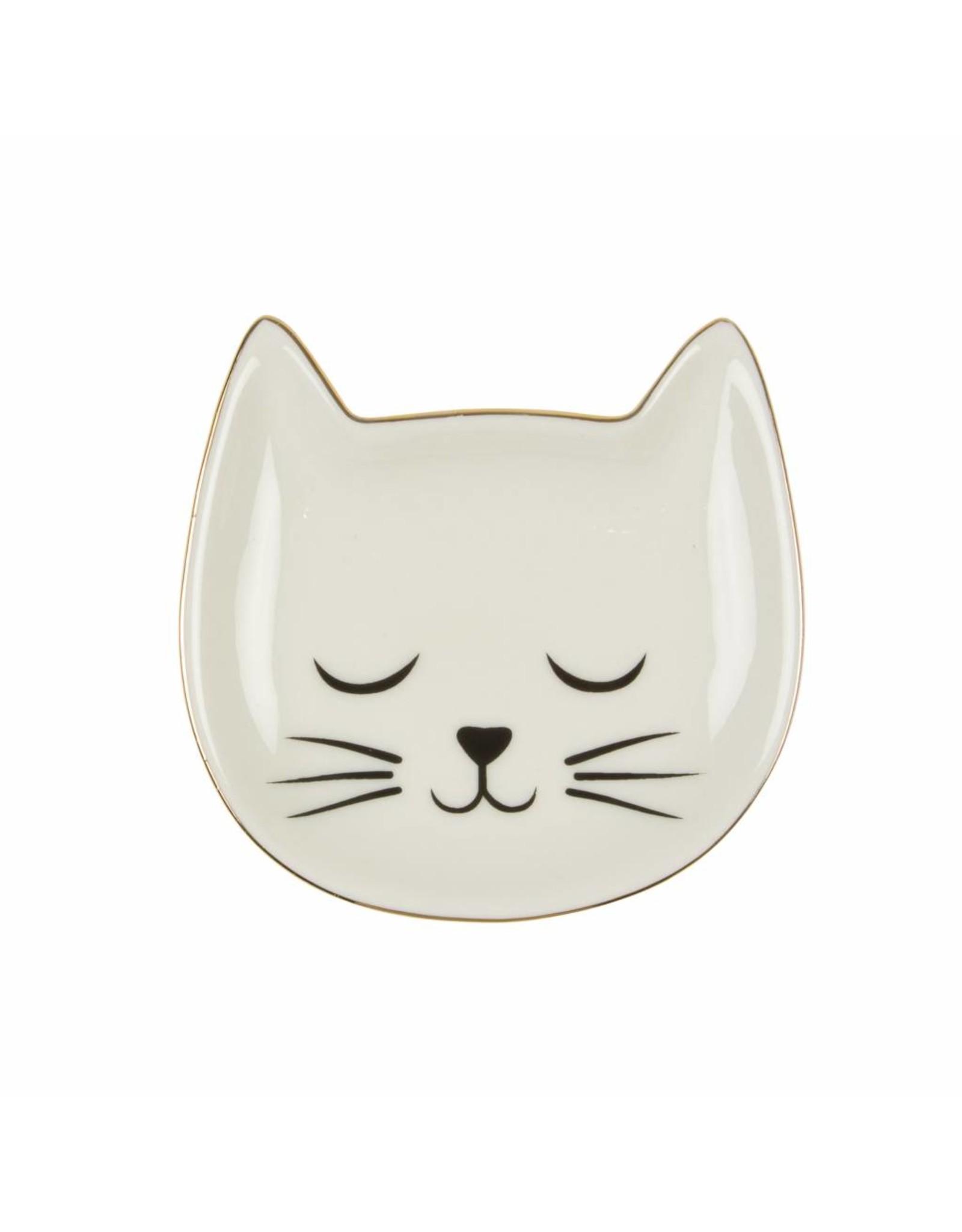Juwelenschaaltje kat
