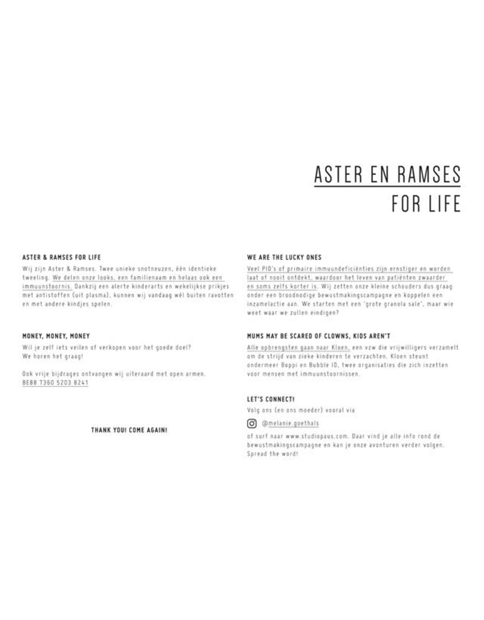 Set Aster&Ramses zwart