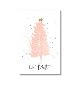 Mini kaartje Fijne Kerst
