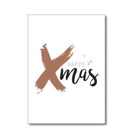 Postkaart Happy Xmas