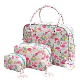 Set tassen flamingo