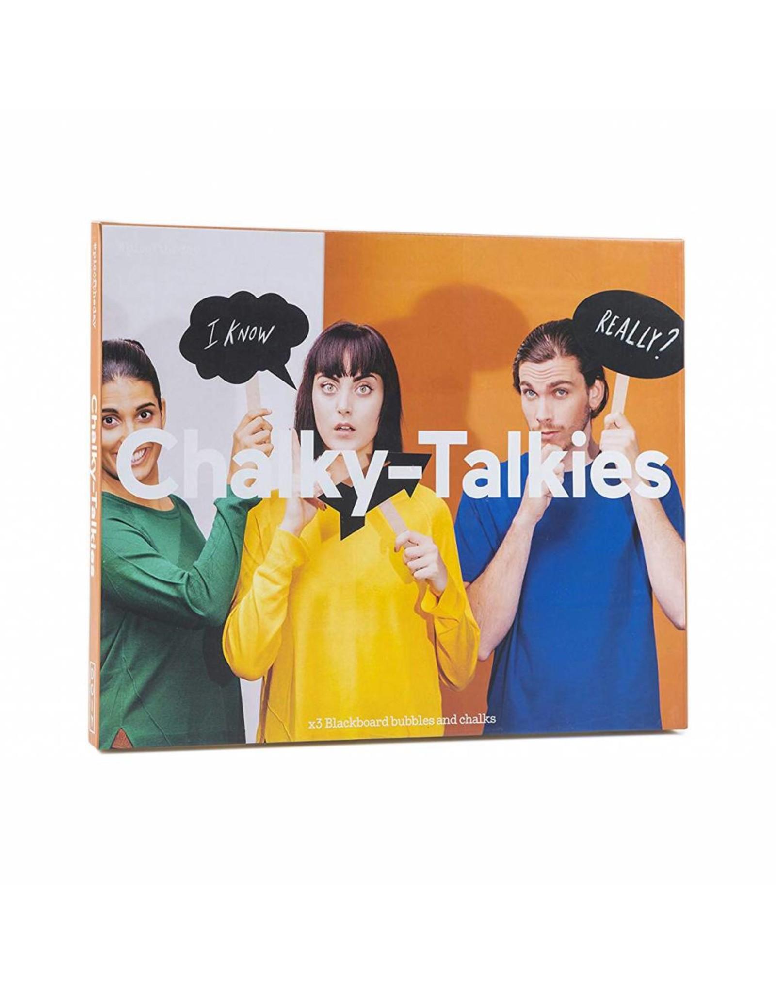 Chalky-talkies 3st