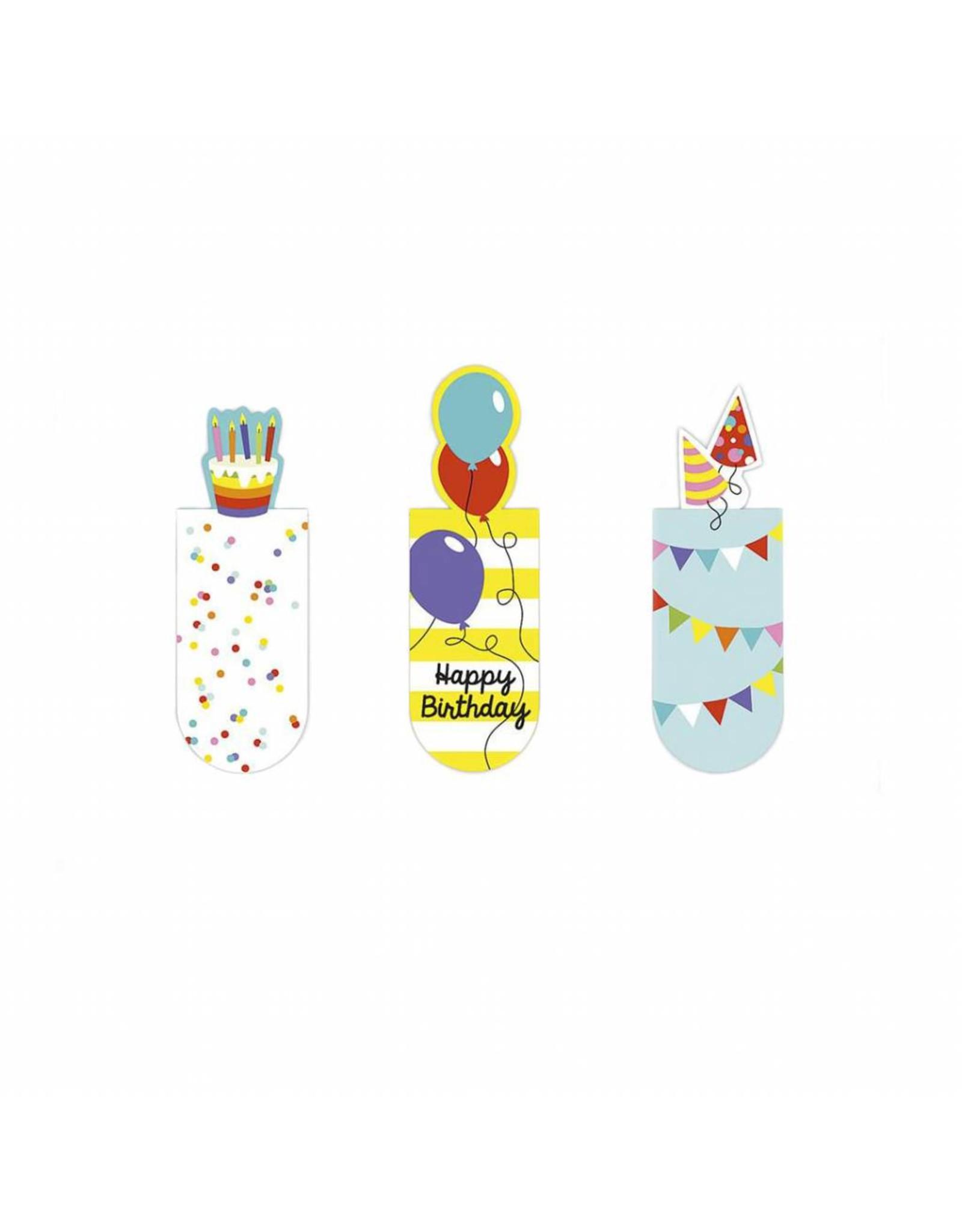 Magnetische bladwijzers happy birthday