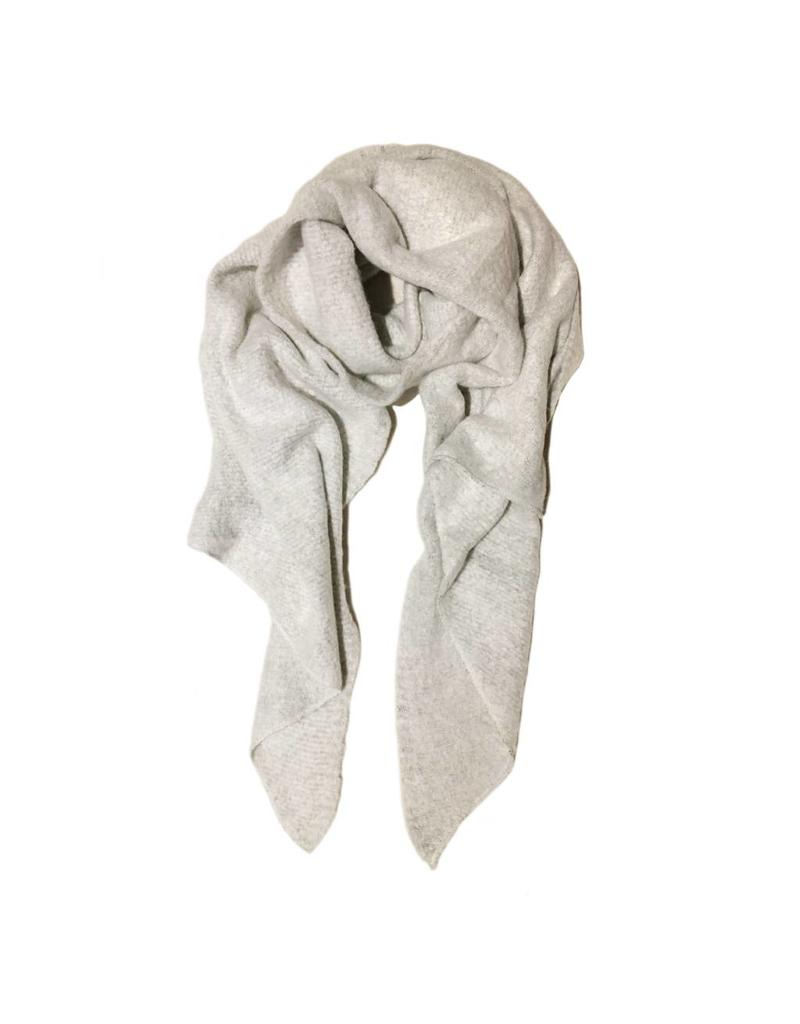 Sjaal lichtgrijs