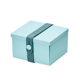 Uhmm box 02 munt/turquoise