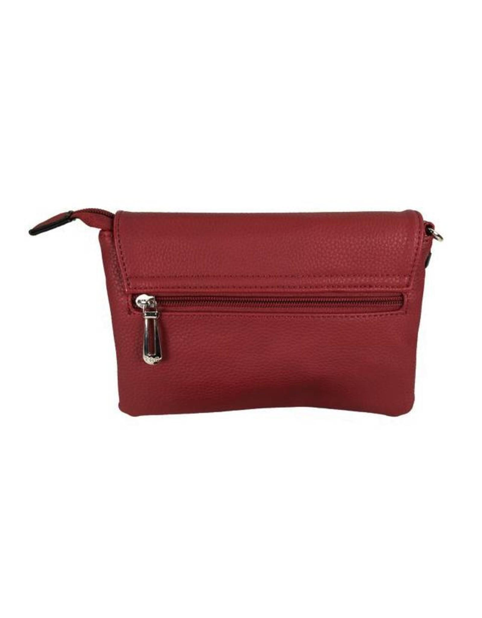 Handtasje/clutch bordeaux