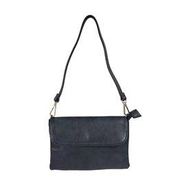 Handtasje/clutch donkerblauw