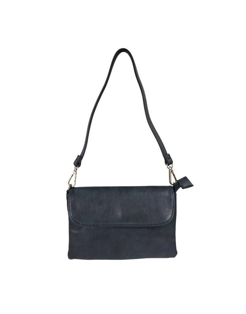 76faa651f6f Handtasje/clutch donkerblauw - Made by e l l e n