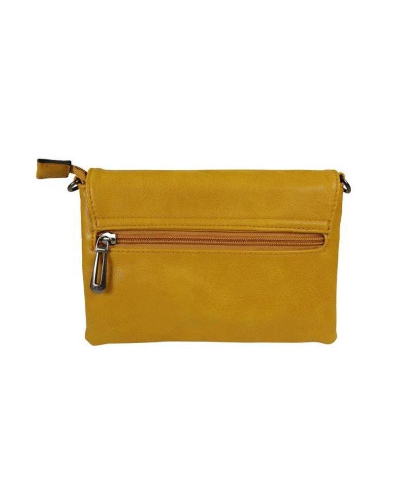 Handtasje/clutch oker