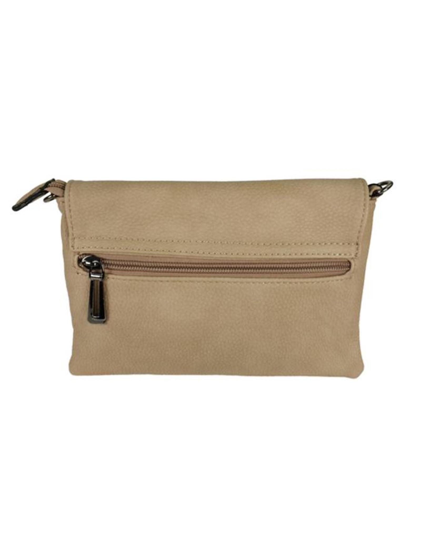 Handtasje/clutch beige