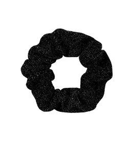 Scrunchie sparkle zwart