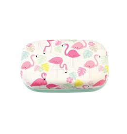 Mini case flamingo