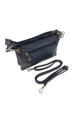 Handtas donkerblauw