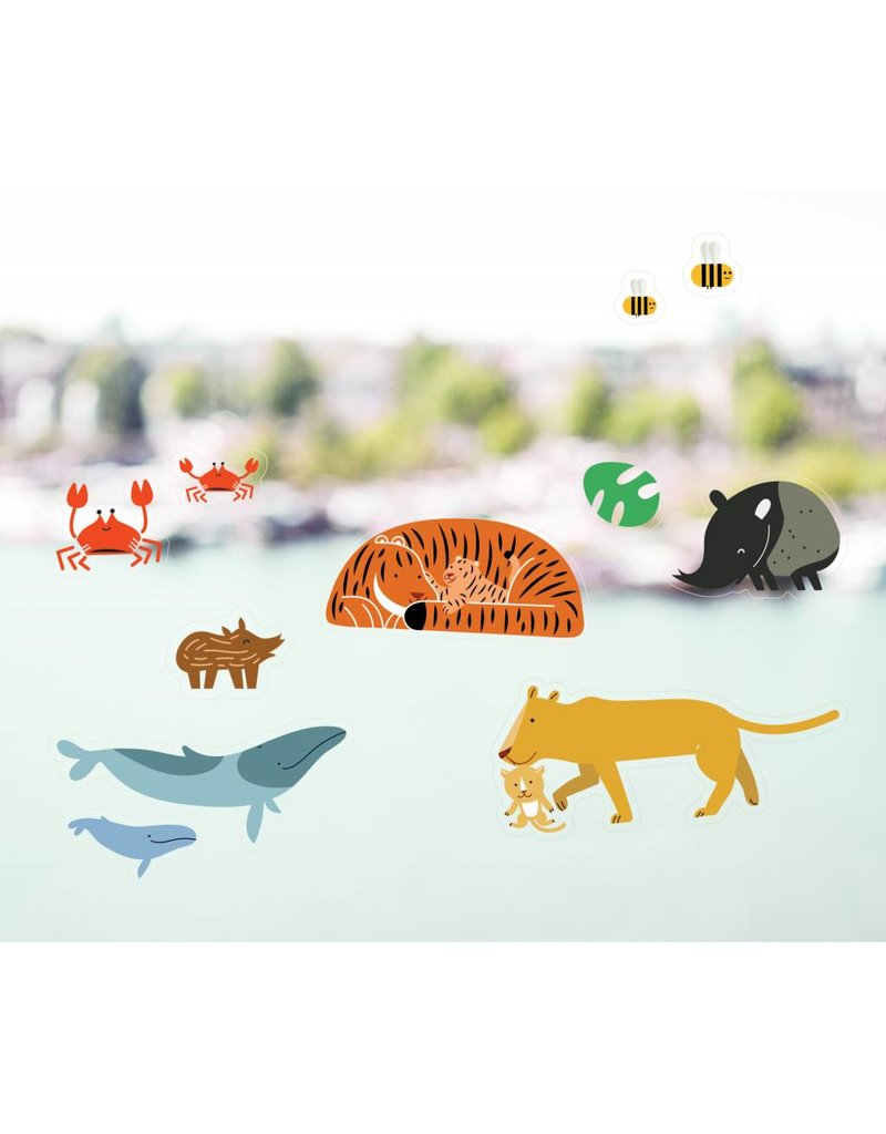 Raamstickers dieren