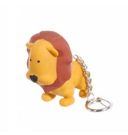 Sleutelhanger LED leeuw