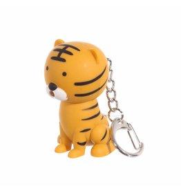 Sleutelhanger LED tijger