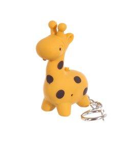 Sleutelhanger LED giraf